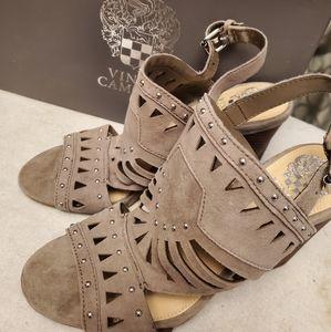 Vince Camuto studded heels